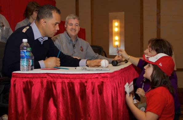 Carlos Beltran Signing