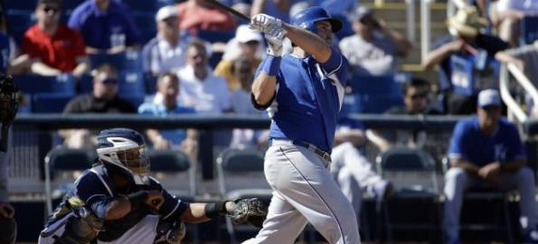 Mike Moustakas Leads a Group of Positive Surprises