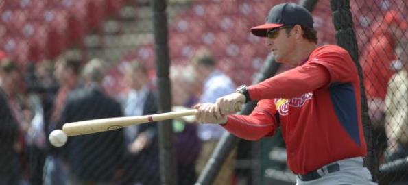 St. Louis Cardinals Mike Matheny