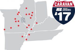 2017 Cardinals Caravan To Visit 21 Cities Over Four Day Period