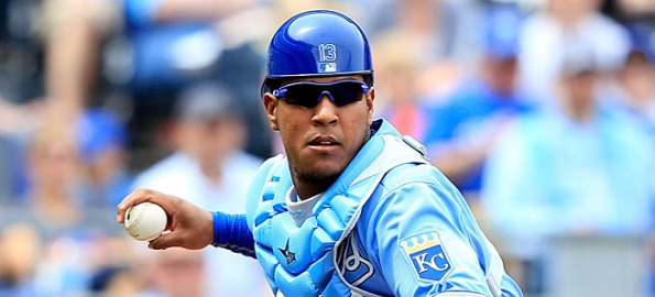 Royals Catcher Salvador Perez