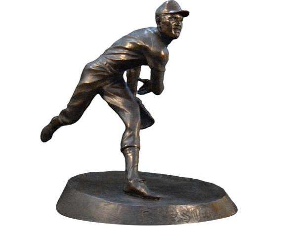 An early representation of the statue courtesy of the Sarpy County Sports Commission
