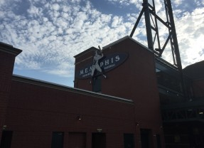 Road Trip Vacation Starts With Visit To Autozone Park In Memphis