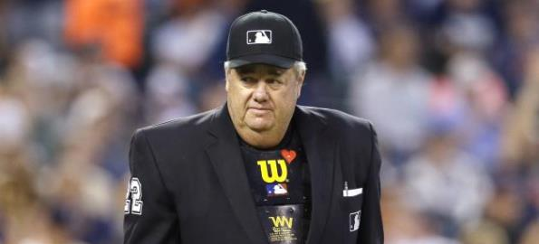 Umpire Joe West
