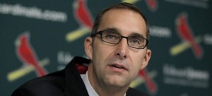 John Mozeliak Warm Up