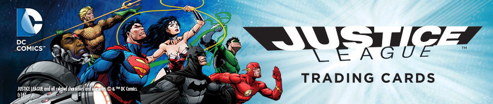 Justice League Trading Cards