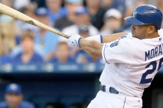 Kansas City Royals Designated Hitter Kendrys Morales Voted Outstanding DH