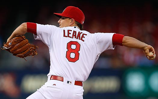 Cardinals hurler Mike Leake