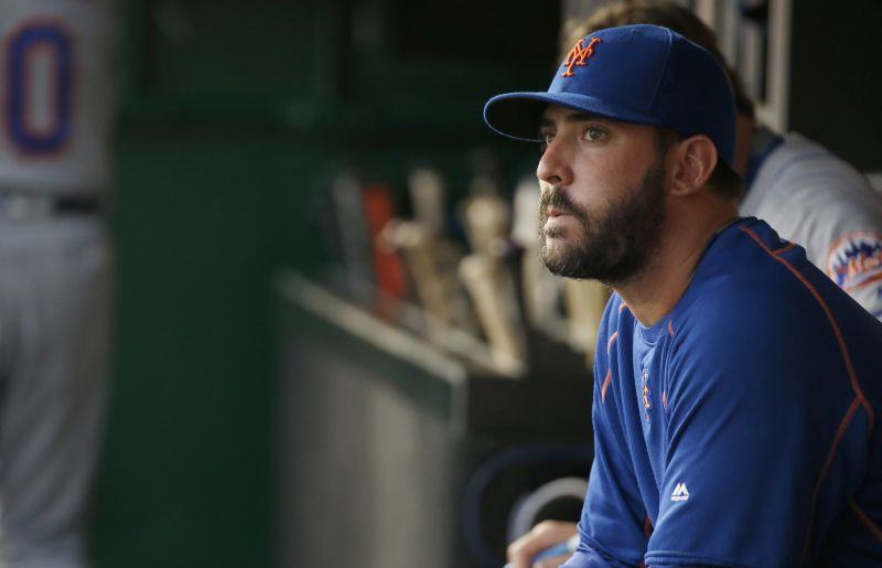 Mets' Matt Harvey to Undergo Season-Ending Shoulder Surgery