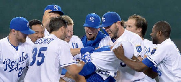 Royals Walk Off Win