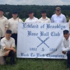 A Base Ball Weekend in the 1800's