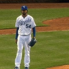 Santana settling in with Royals