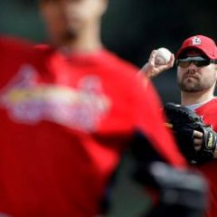 Minus Chris Carpenter, Cardinals pitchers strong