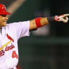 St. Louis Cardinals catcher Yadier Molina should be NL MVP