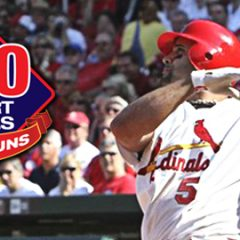 Albert Pujols: 400 Home Runs