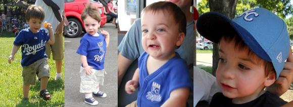 Royals blue baby
